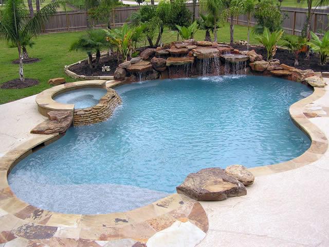 Houston Pool Builders And Custom