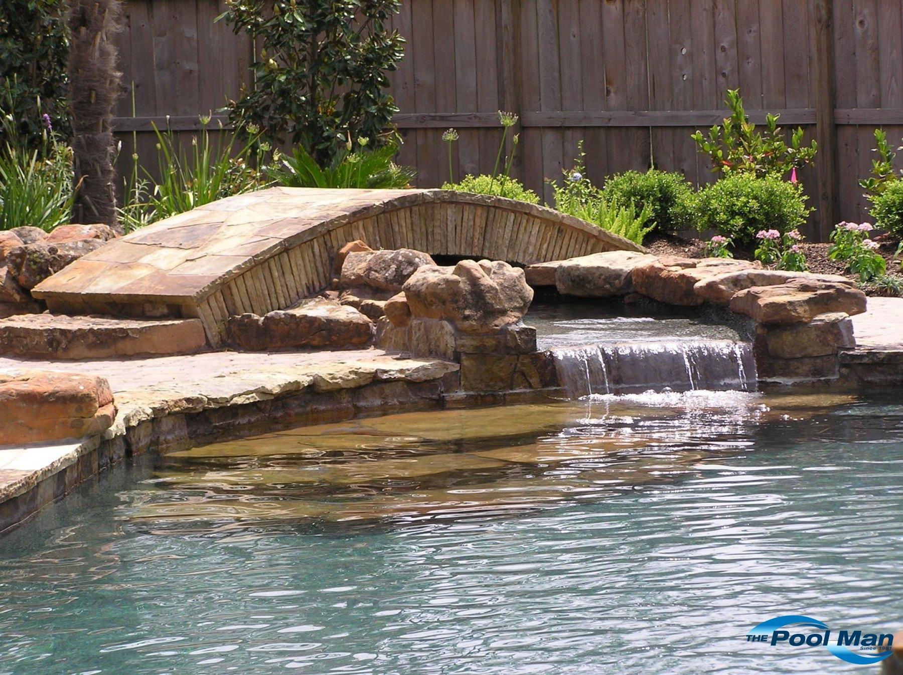 Pool Water Features In Houston Tx Pool Builder In Houston