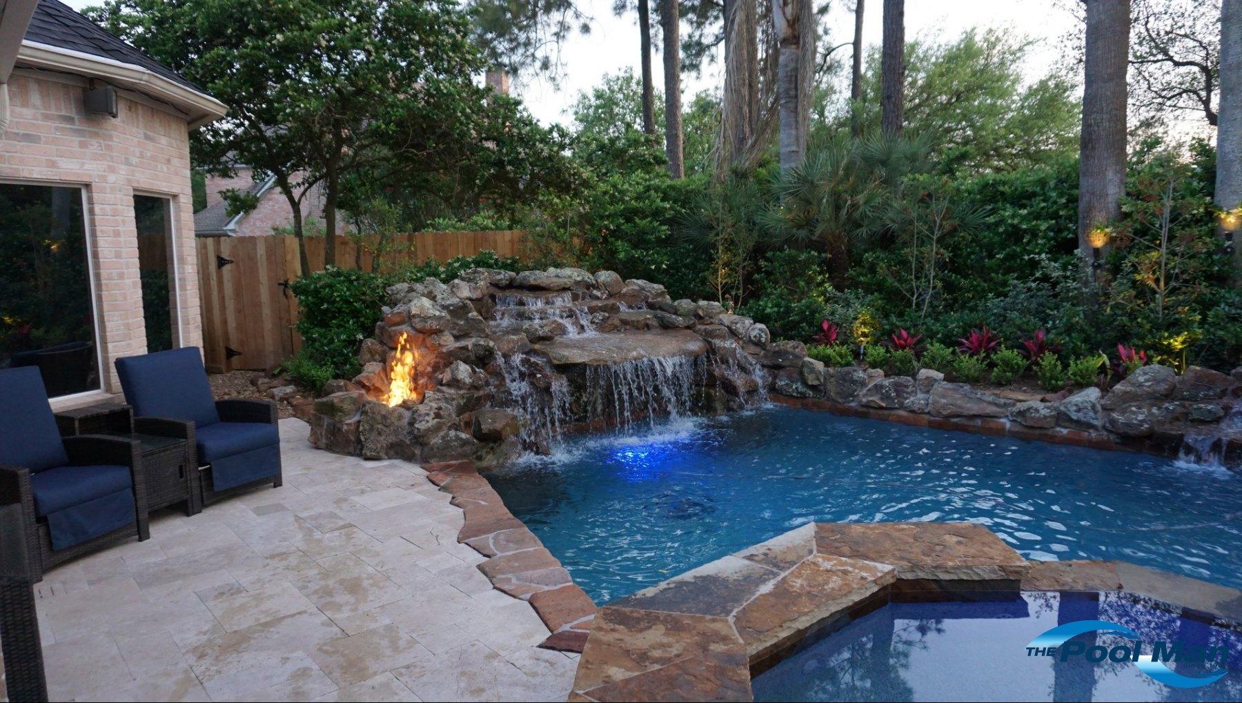 Pool Water Features In Houston Custom Builder