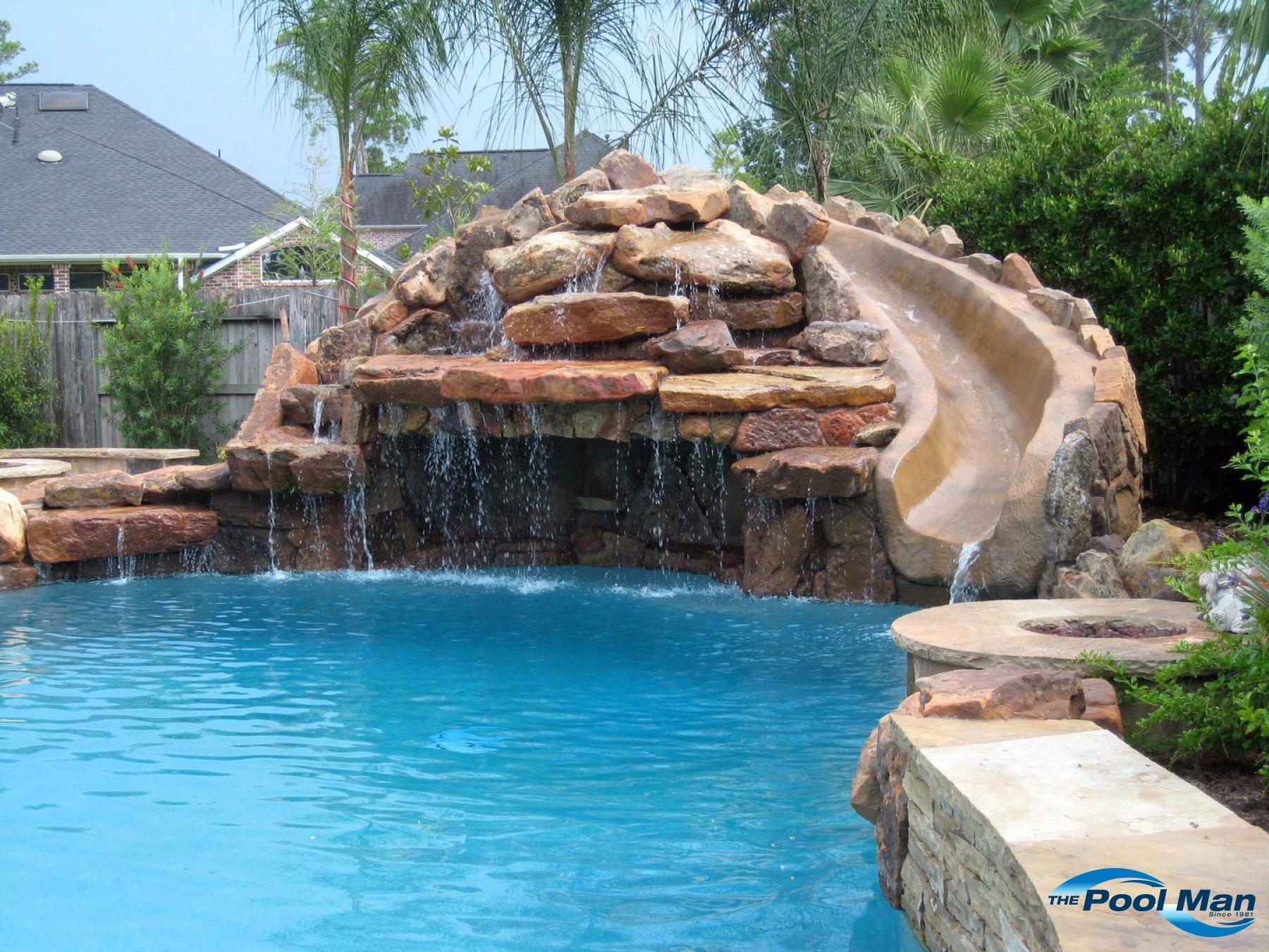 Pool Water Features in Houston TX |Pool Builder in Houston ...