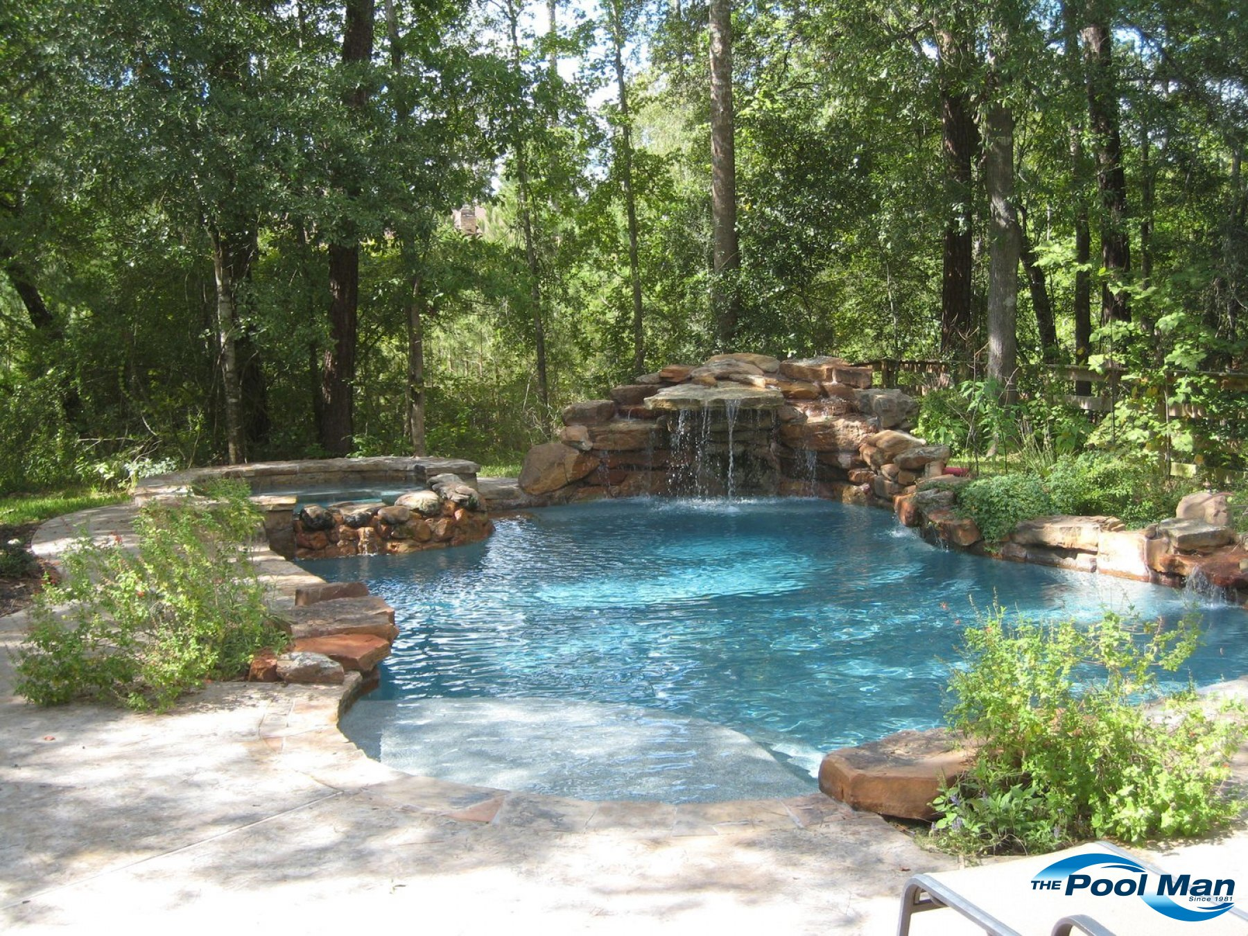 Natural Pools builder in Houston TX |Pool Builder in Houston ...